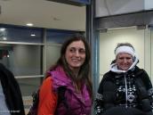 Фото из тура в Патагонию в 2012 году. Первая встреча с нашим гидом Хулиэттой, Эль Калафате, Патагония.