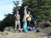 Фото из тура в Патагонию в 2012 году. Работа мастера йоги, Фицрой, Патагония.