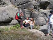 """Фото из тура в Патагонию в 2012 году. Разговор """"бывалых"""", Фицрой, Патагония."""