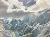Фото из тура в Патагонию в 2012 году. На леднике Перито Морено.
