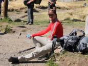 Фото из тура в Патагонию в 2012 году. А это наш айфон-фотограф.
