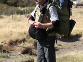 Фото из тура в Патагонию в 2012 году. Впереди долгий путь по тропе к Серро Торре, Патагония.