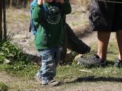 Фото из тура в Патагонию в 2012 году. По тропе к Фицрою здесь ходят даже маленькие дети.