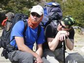 "Фото из тура в Патагонию в 2012 году. ""Скажи-ка, дядя!..."". На тропе в Патагонии."
