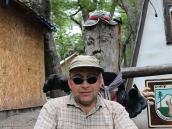 Фото из тура в Патагонию в 2012 году. У поста рейнжеров при входе в Долину Молчания.