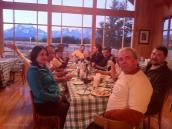 Фото из тура в Патагонию в 2012 году. Прекрасный ужин с изумительным видом на Торрес дель Пэйн.