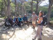 Фото из тура в Патагонию в 2012 году. На привале треккинга к Серро Торре.