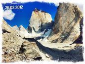 Фото из тура в Патагонию в 2012 году. Долина молчания - потрясающее место отвесных километровых стен.
