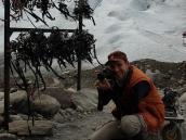 Фото из тура в Патагонию в 2012 году. На леднике Перито Морено, треккинг в Патагонии.