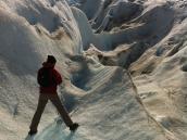 Фото из тура в Патагонию в 2012 году. На леднике в Патагонии.