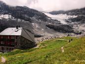 Один из отелей на маршруте. Треккинг-тур в Швейцарию