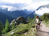 Фото из тура в Швейцарию в 2004 году. Покидая туманную Францию, впереди - Швейцария.