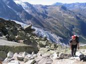 Фото из тура в Швейцарию в 2004 году. К хижине Прафлюри.