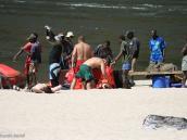 Фото рафтинга по Замбези в 2008 году. Разоружение
