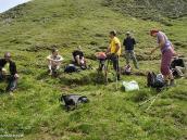Фото из тура в Швейцарию в 2010 году. Один из привалов на обед, Швейцария.