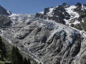 Фото из тура в Швейцарию в 2010 году. Массивный ледник Триент, Швейцария.