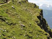 Фото из тура в Швейцарию в 2010 году. Траверс над долиной Валь-де-Бань, Швейцария.