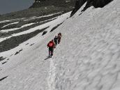Фото из тура в Швейцарию в 2010 году. Переход через Великую Белую пустыню, Швейцария.