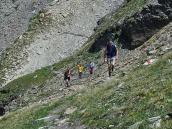 Фото из тура в Швейцарию в 2010 году. Треккинг к перевалу Коль-де-Ридматтен, Швейцария.