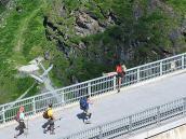 Фото из тура в Швейцарию в 2010 году. Довели нашего горного гида :) Но всё обошлось :) Швейцария.