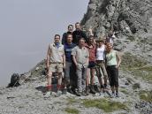 Фото из тура в Швейцарию в 2010 году. Все вместе на последнем перевале Аугстбордпас (2894 м), Швейцария.