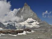 Фото из тура в Швейцарию в 2010 году. Маттерхорн (4478 м) - самая знаменитая гора Швейцарии.