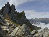 Японские Альпы осенью