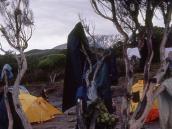 Лагерь Шира. Просушка вещей.