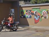 Профессиональный стрит-арт в Аруше