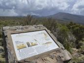 Тропа через плато Шира начинается с оборудованной обзорной площадки.