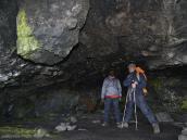 Лавовые пещеры на Килиманджаро - не редкость.
