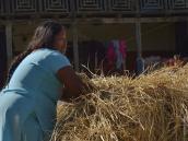 Женщина из непальской деревни