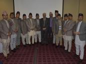 Коллективное фото непальских друзей