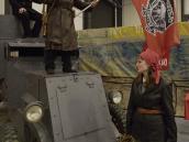 На сцену выходит Анка-пулемётчица