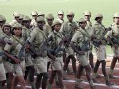 Парад войск, Эфиопия