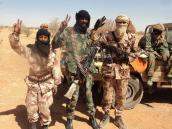 Армейцы в эфиопской пустыне