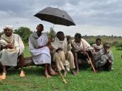 Православные священники на отдыхе, Эфиопия