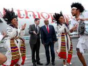 Прибытие высокой делегации в Аддис-Абебу