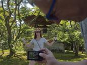 Путешествие по Японии, Киото, Золотой павильон, йога