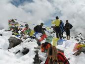 На перевале Гоча-Ла, треккинг в Сиккиме