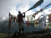 в лагере Дзонгри (4200 м), треккинг в Сиккиме