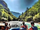 Рафтинг экскурсия по реке Тара