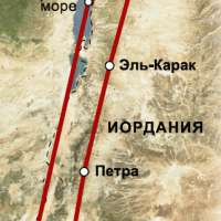 треккинг иордания