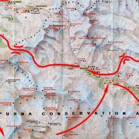"Карта маршрута ""Долина Наар и озеро Тиличо"""