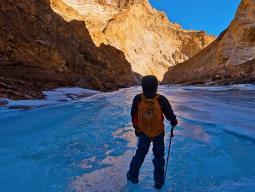 Тур в Ладакх зимой, каньон Чадар