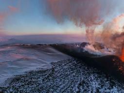 Новое извержение Толбачика. Ключевская группа вулканов.