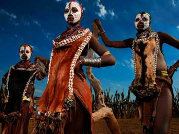 Экзотичные племена Эфиопии