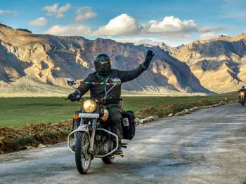 На мотоцикле по Гималаям