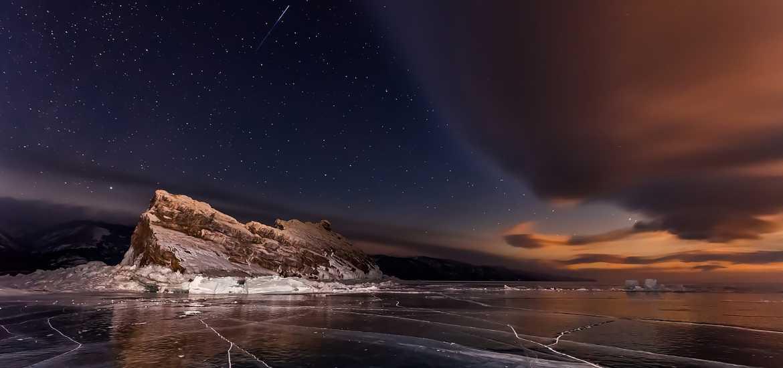 Короткая экспедиция через зимний Байкал