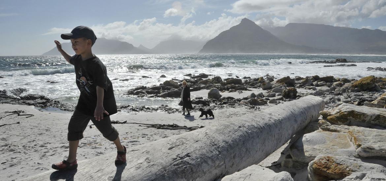 Прогулки по берегу Индийского океана в ЮАР